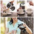 French Press Coffee/Tea Brewer Coffee Pot Coffee Maker Kettle 1000ML Stainless Steel Glass Thermos For Coffee Drinkware preview-6