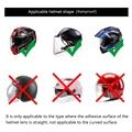 Universal Motorcycle Helmet Optional Clear Rainproof Film Anti Rain Clear Anti-Fog Patch Screen for K3 K4 AX8 LS2 HJC MT Helmets preview-4