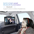 10.1 inch Android Car Headrest Monitor RAM 2GB 1080P video IPS Touch Screen 4G WIFI/Bluetooth/USB/SD/FM MP5 Video Player with DC preview-4