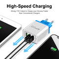 QGEEM 3 USB Charger Quick Charge 3.0 Fast USB Wall Charger Portable Mobile Charger QC 3.0 Adapter for Xiaomi iPhone X EU US Plug preview-6