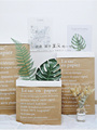 Photo Studio Props Double Layer Paper Thickening Kraft Paper Bags &Simulation Leaf Fake Foliage for Photography Background Items preview-3