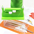 Useful Hand Needle Threader with 5pcs Sewing Needle Threader DIY Needlework Sewing Tools Needles Insertion Accessories preview-5