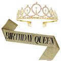 1 Set Gold Queen