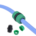 1 Pcs 1/2' Hose Connector Garden Tools Quick Connectors Repair Damaged Leaky Adapter Garden Water Irrigation Connector Joints preview-1