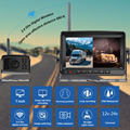 """2ch AHD Wireless Truck DVR Car Monitor Car Display Screen 7"""" IR Night Vision Reverse Backup Recorder Wifi Camera For Bus RV preview-4"""