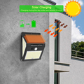 228 144 LED Solar Light Outdoor Solar Lamp PIR Motion Sensor Light Waterproof Solar Powered Sunlight for Garden Decoration preview-5