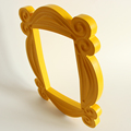 TV Series Friends Handmade Monica Door Frame Wood Yellow Photo Frames Collectible for Home Decor preview-4