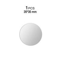 1PCS Silver 35x35mm