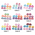 10Pcs Polka Dots Bow Hair Ring Rope Elastic Hair Rubber Bands Hair Accessories for Girls Hair Tie Ponytail Holder Headdress preview-6
