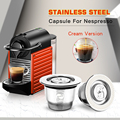 ICafilas Stainless Steel Reusable Capsules For coffee Maker  for Nespresso Machine Coffee Espresso For Coffee Maker preview-1