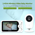 TakTark 4.3 inch Wireless Video Baby Monitor Sitter portable Baby Nanny Security Camera IR LED Night Vision intercom preview-5