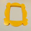 TV Series Friends Handmade Monica Door Frame Wood Yellow Photo Frames Collectible for Home Decor preview-6