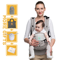 Kangarouse Ergonomic Baby Carrier Infant Kid Baby Sling Front Facing Kangaroo Baby Wrap Carrier for Baby Travel 0-36 Months preview-1