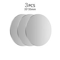 3Pcs Silver 35x35