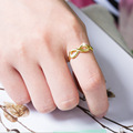 Fashion Silver color filled Ring Infinity Eternity Endless Love Gift Rings for Women Wedding Jewelry gift Anillos Mujer preview-5