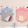 Baby Bathroom Mesh Bag for Bath Toys Bag Kids Basket for Toys Net Cartoon Animal Shapes Waterproof Cloth Sand Toys Beach Storage preview-2