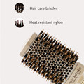 4 Sizes Professional Salon Styling Tools Round Hair Comb Hairdressing Curling Hair Brushes Comb Ceramic Iron Barrel Comb 20#826 preview-4