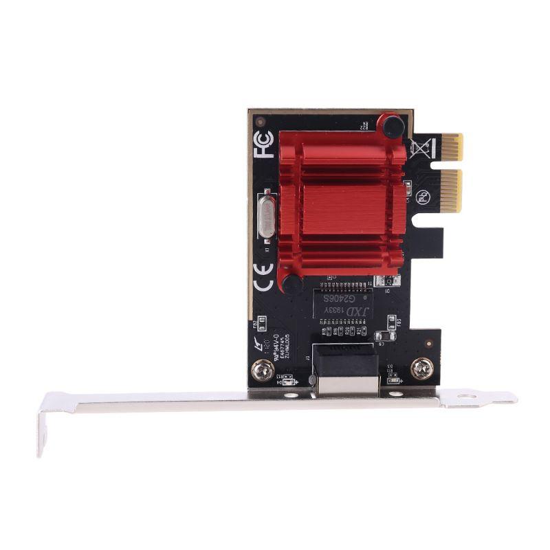 I210 Ethernet Server Adapter For In tel I210 Chip PCIe2.1 X1 RJ45 Single port 10/100/1000M PCI-Express