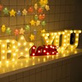 Luminous LED Letter Night Light Creative 26 English Alphabet Number Battery Lamp Wedding Decoration Valentine's Day Gift preview-1