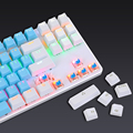 Gaming Mechanical Keyboard 87 keys Game Anti-ghosting Blue Switch Color Backlit Wired Keyboard For pro Gamer Laptop PC preview-2