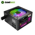 GameMAX Power Supply RGB PSU True Rated 800W Semi Modular 80 Plus Bronze RGB ATX PC Case Power Supply for Computer VP-800-M-RGB preview-1