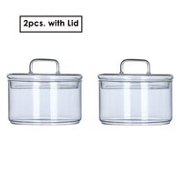 2pc with 2 Lids