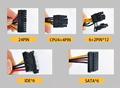 Taisu High Efficiency ATX 1800W Mining 80PLUS Platinum Power Supply For Ethereum Bitcorn Professional Mining Rig GPU preview-4