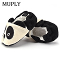 Adorable Infant Slippers Toddler Baby Boy Girl Knit Crib Shoes Cute Cartoon Anti-slip Prewalker Baby Slippers preview-5