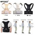 Aptoco Magnetic Therapy Posture Corrector Brace Shoulder Back Support Belt for Men Women Braces & Supports Belt Shoulder Posture preview-1