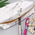 Large Cute Pencil Case Pouch Pen Box Zipper Bags Marble Makeup Storage Supplies for Student 1014 preview-2