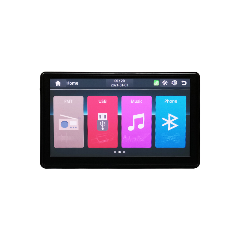 Portable Apple CarPlay Android Auto Monitor AirPlay Phone Mirror Link Display for Car Bus SUV Pickup Taxi Truck Lorry Van MPV preview-4