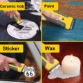 Car Window Glass Sticker Clean Razor Scraper Ceramic Razor Blade Tint Vinyl Wrap Glue Squeegee Remover Cleaner preview-6