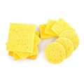 10 Pcs Yellow High Temperature Resistant Cleaning Sponge for Electric Soldering Iron Stand Welding Accessories Kit preview-6