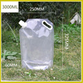 Transparent Folding Water Bag Evacuation Disaster Prevention Goods Water Tank Bag Portable Large Capacity Camp Cooking Supplies preview-6