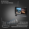 """2ch AHD Wireless Truck DVR Car Monitor Car Display Screen 7"""" IR Night Vision Reverse Backup Recorder Wifi Camera For Bus RV preview-2"""