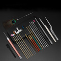 23PCS Ear Wax Removal Tool Kit Ear Pick Set Earwax Remover Spoon Ear Cleaning Care Tools with LED Light for Adult Ear Care preview-5