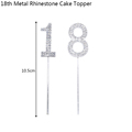 18th Cake Toppers