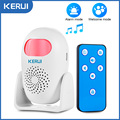 KERUI M120 Smart 100db PIR Infrared Anti-Theft Burglar Welcome Multifunction Human Motion Detector For Garage Shop Home Security preview-1