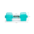 2pcs Body Building Water Dumbbell Weight Dumbbell Fitness Gym Equipment Crossfit Yoga For Training Sport Plastic Bottle Exercise preview-6