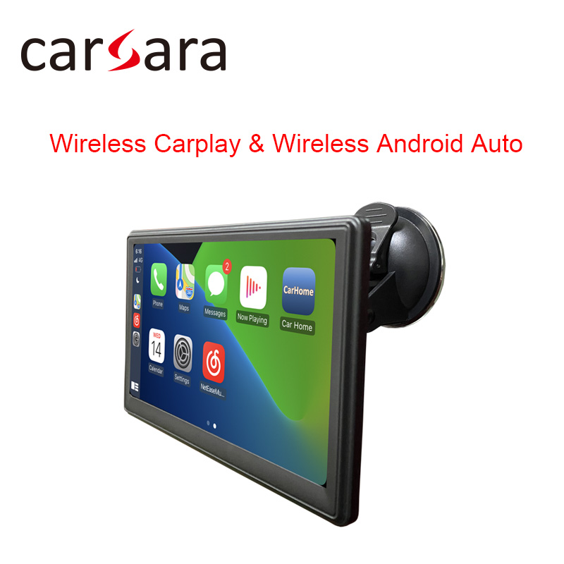 Portable Apple CarPlay Android Auto Monitor AirPlay Phone Mirror Link Display for Car Bus SUV Pickup Taxi Truck Lorry Van MPV