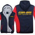 Winter Can Am Spyder Motorcycles Hoodies Men Fashion Coat Pullover Wool Liner Jacket Can Am Spyder Sweatshirts Hoody preview-6