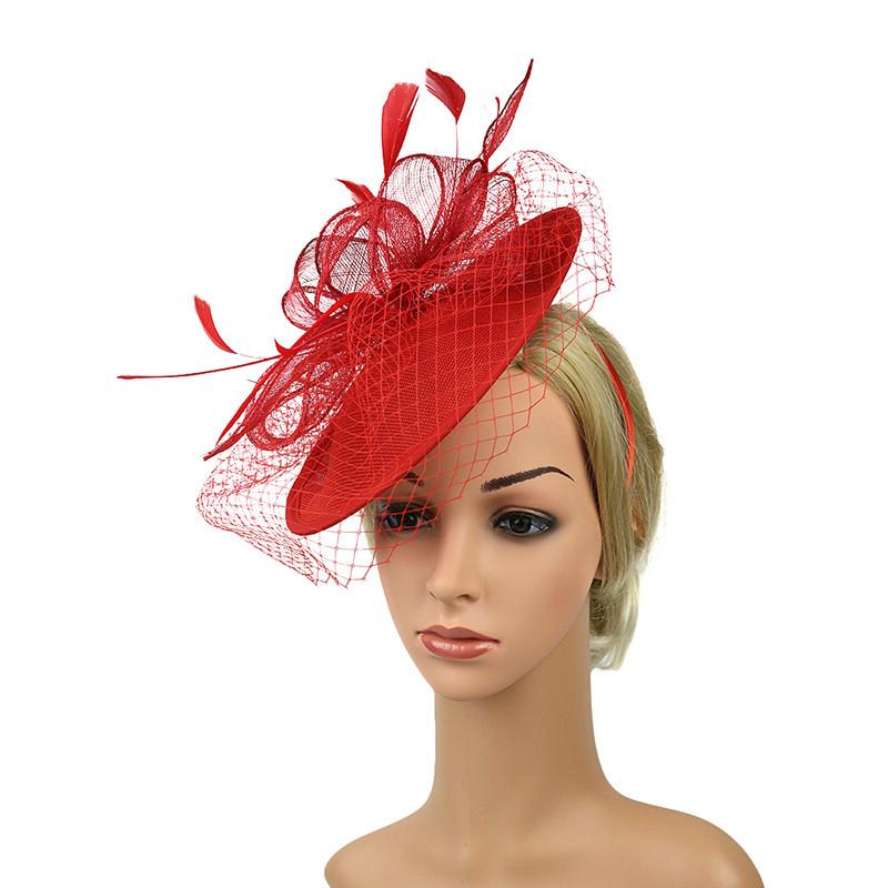 Womens Felt Hat Wedding Bridal Hats and Fascinators/headpiece/party Hat/corsage Elegant Black Bridcage Party Hair Accessories