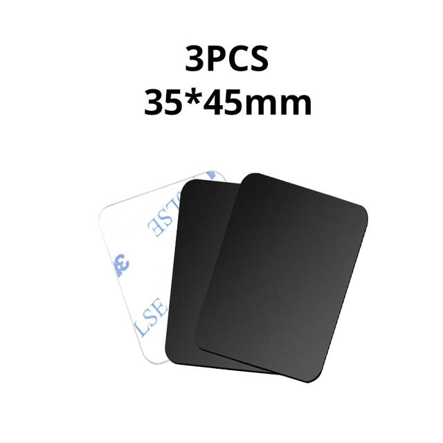 3PCS Black 35x45