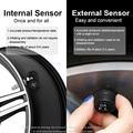 HGDO Seguridad del automóvil Sistema de alarma de presión de los neumáticos Energía solar Pantalla digital Smart Car TPMS Sistem preview-5