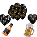1set 10inch CHEERS BEERS To 21 30 40 50 Year Latex Balloon Birthday Party Celebration Bachelor Party Balloons Supplies Globos preview-1