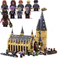 2021 New Harris Forbidden Forest Umbridge's Encounter Tower 4 Privet Drive Attack on The Burrow Hedwig Building Blocks Toys preview-5