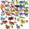 Jurassic World Park Dinosaurs Family Building Blocks Affordable Set Tyrannosaurus Rex Educational Toys Gift For Children preview-3