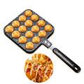 Takoyaki Pan Octopus Small Balls Cast Aluminium Pan Household Baking Cooking Tools Kitchen Cookware Grill Pan preview-6
