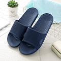 Men's Footwear Man Stripe Flat Bath Soft Slippers Summer Indoor Home Slippers Drop Shipping Sapato Masculino Male Flip-Flop preview-1