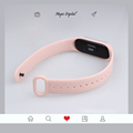 Strap For Xiaomi Mi Band 5 4 3 Silicone Wristband belt Bracelet Replacement Wrist Color TPU For Xiaomi Band 6 MiBand 4 3 5 Strap preview-5